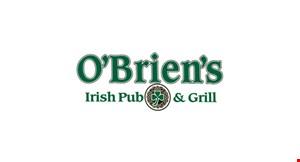 O'Brien'S Irish Pub & Grill logo