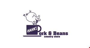 Product image for Pork & Bean Store $5 off whole bone-in or boneless ham.