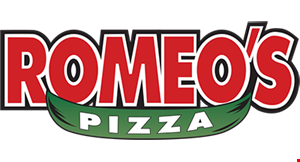 Product image for Romeo's Pizza $12.99 2-TOPPING Large