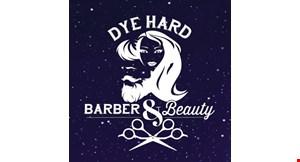 Dye Hard Barber & Beauty logo
