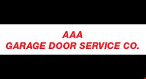 AAA Garge Door Service Co. logo