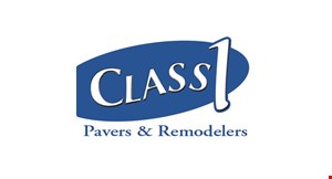 Class 1 Pavers & Remodelers logo