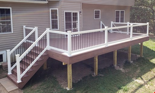 Product image for Welwood Construction, Llc Free LED step lights with full resurface & railings if signed by April 10th