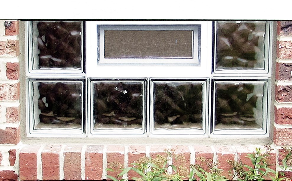 Product image for Dayton Glass Block Co. 20% OFF with purchase of 3 or more installed glass block windows.