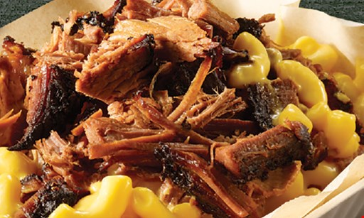 Product image for Dickey's Barbecue Pit $1 off any mac stack.