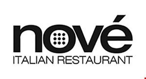Nove Italian Restaurant logo