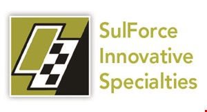 Product image for Sulforce Innovative Specialties 10% off vehicle services.