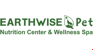 Product image for EarthWise Pet Nutrition Center & Wellness Spa $10 OFF full grooming service new clients only. $10 OFF any purchase of $50 or more.