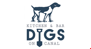Product image for Digs On Canal Kitchen & Bar $10 Off any purchase