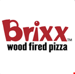 Product image for Brixx Wood Fired Pizza FREE PIZZA with the purchase of a pizza and 2 drinks .