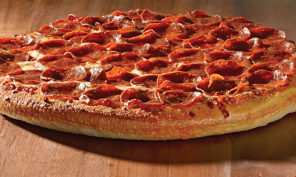 Product image for Rocky's Pizza and Grille $8 each + tax lg. pizza with order of 5 pizzas or more, toppings extra.