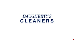 Daugherty Cleaners logo
