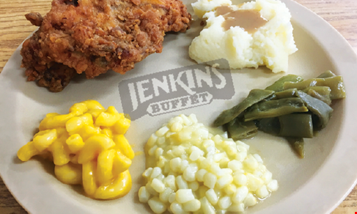Product image for Jenkins Buffet $5 OFF purchase of $25 or more