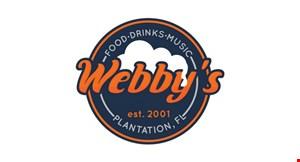 Webby's Grub & Pub logo