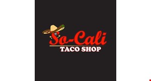 Product image for So-Cali Taco Shop $5 off any purchase