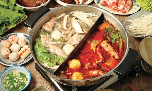 Product image for icooking Hotpot & BBQ Free meal. 1 free meal with purchase of 4 or more meals. Dinner only. Valid Mon-Thur. 1 per party..