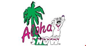 Aloha Snow logo
