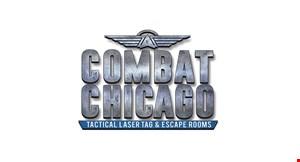 Combat Chicago Tactical Laser Tag & Escape Rooms logo