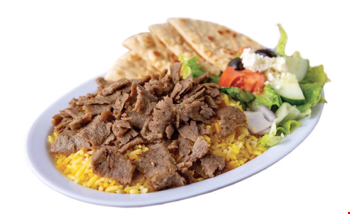 Product image for Greek Plate Gyro $5 OFF any purchase of $25 or more