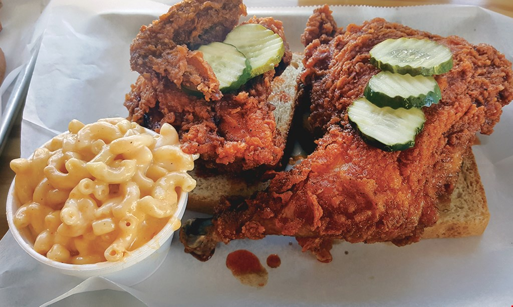 Product image for Big Shake's Nashville Hot Chicken 15% Off any purchase good till 3pm.