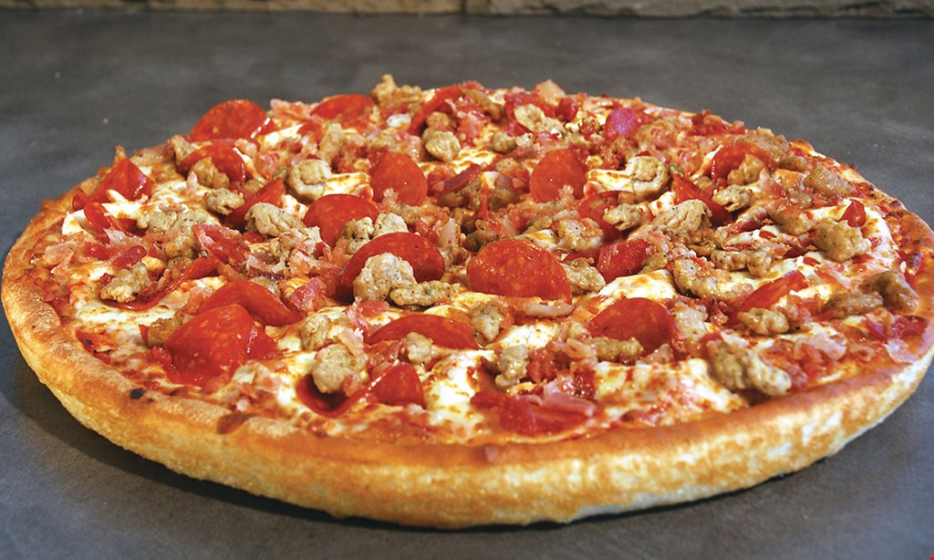 Product image for East Of Chicago Pizza Pick any two Pizza Foldovers $12.99 Double stuff, Meaty or Two Topping.