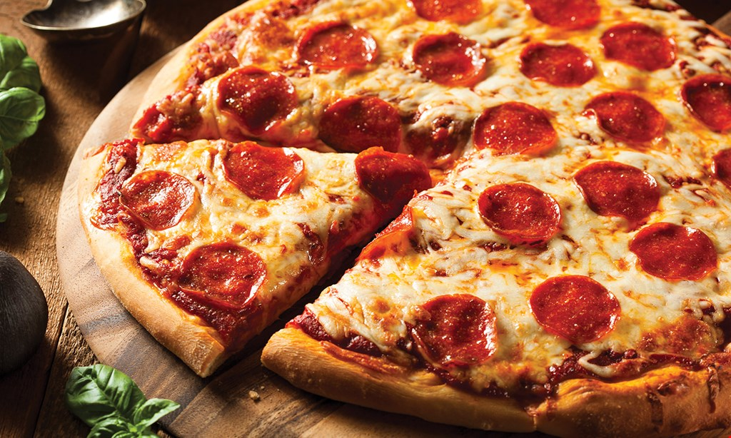 "Product image for Antonio's Pizza Single 6-slice (8""x10"") 1-topping $10.99."