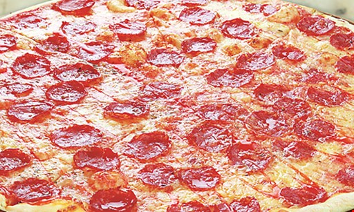 Product image for Belleria Pizza & Italian Restaurant $3 off 1/2 Sheet Cheese Pizza • One Dozen Wings One 2-Liter Pepsi Product CARRYOUT & DELIVERY ONLY.