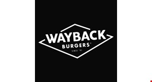 Product image for Wayback Burgers $10 For $20 Worth Of Casual Fast Dining