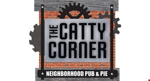 Product image for The Catty Corner Neighborhood Pub & Pie $5 off any purchase of $25 or more or $10 off any purchase of $50 or more