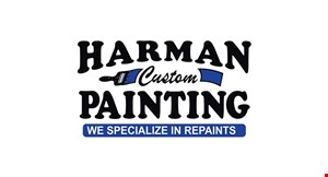 Product image for Harman Custom Painting $250 Off any complete interior or exterior paint job