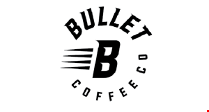 Bullet Coffee Co. logo