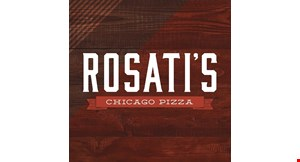 """Product image for Rosati's Pizza $27 16"""" Thin Crust Pizza, Choice Of Italian Table Or Cesar Salad, and Garlic Or Cinnamon Sticks MEAL DEAL."""