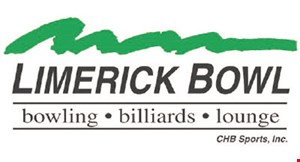 Product image for Limerick Bowl $10 Off Any Rent A Lane Package