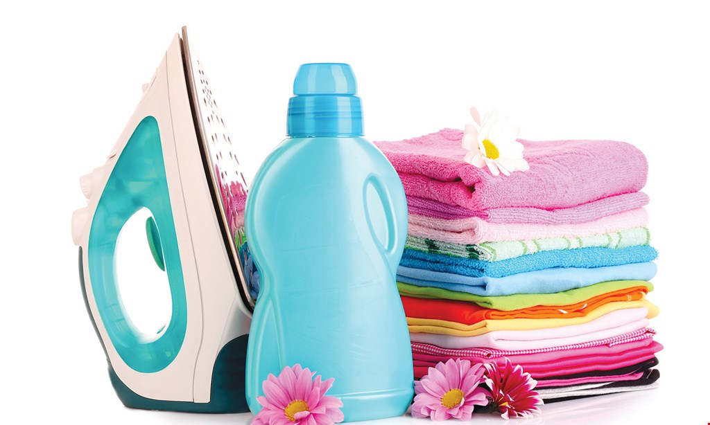 Product image for Queen Wash Express Laundry Center 50% off your first order (min 20lbs.).