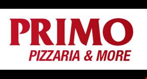 Primo Pizzeria & More logo