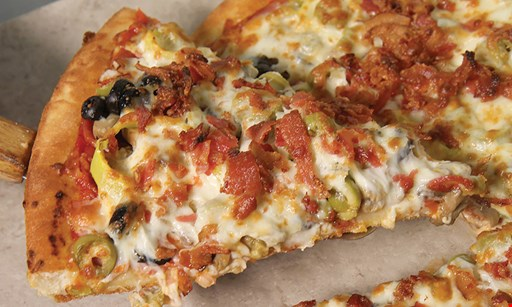 Product image for East of Chicago Pizza Two medium 1-topping pizzas $16.99. Pan, thin or crispy.