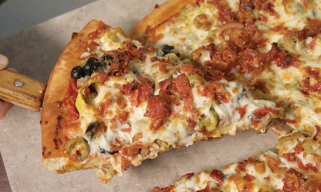 """Product image for East Of Chicago Pizza Pick any two 12"""" oven baked subs $13.99. Choose from any of our subs."""