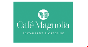 Product image for Cafe Magnolia $10 Off any purchase of $50 or more.