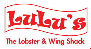 Lulu's The Lobster & Wing Shack logo