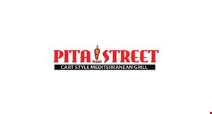 Product image for Pita Street Cart Style Mediterranean Grill $2.00 off any purchase