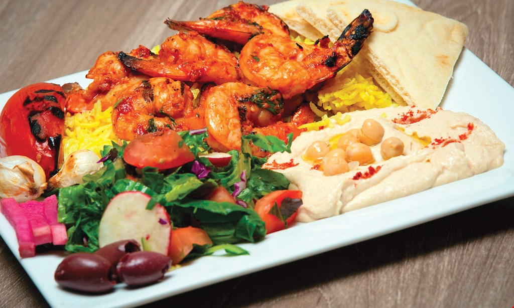 Product image for Pita Street FREE platter with purchase of 1 platter of equal or greater value and 2 drinks.