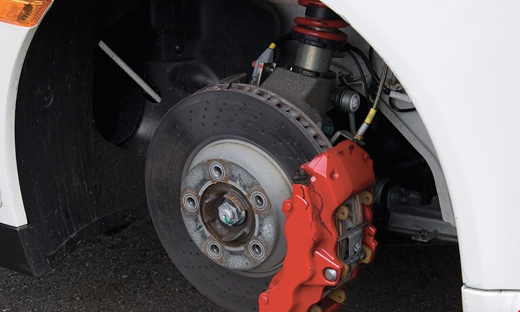 Product image for Brake Stop & Auto Repair $119.50 front or rear brakes.