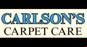Carlson's Carpet Care logo