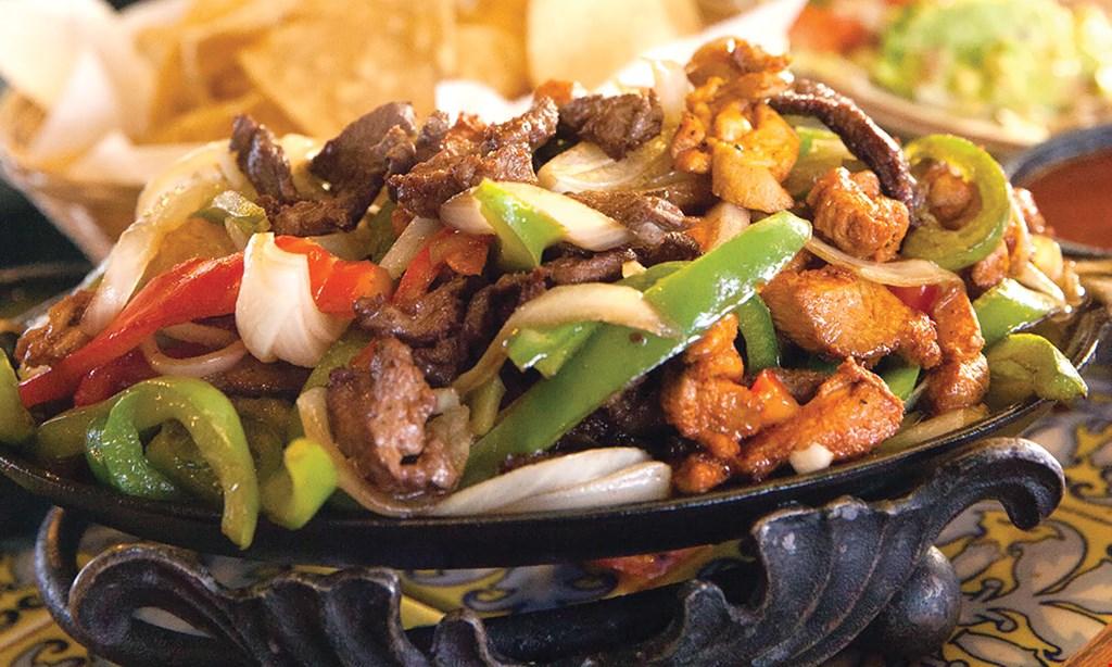 Product image for Casa Machado Mexican Restaurant $34.95 mixed fajitas for two & 2 regular margaritas