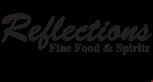 Reflections Fine Food & Spirits logo