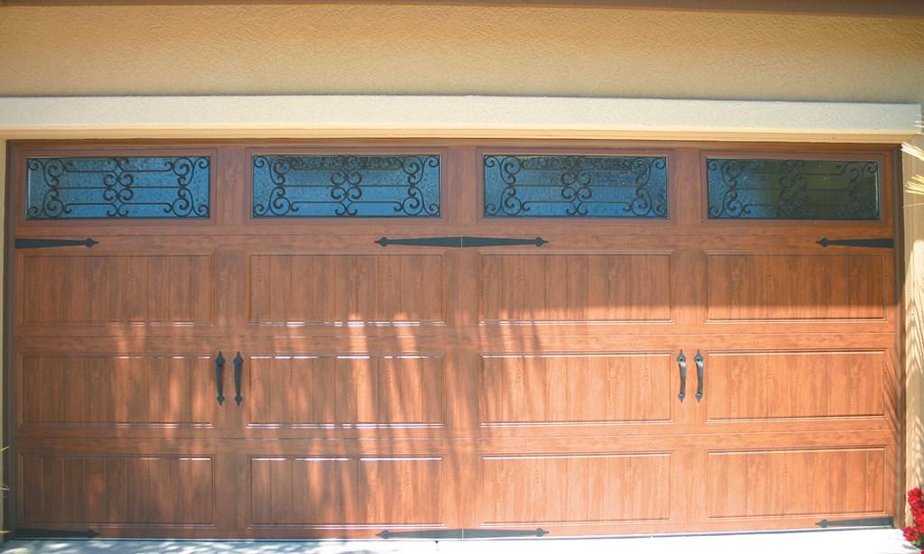 Product image for Easy Open Door Company GARAGE DOOR TUNE UP $79 Includes: lube, balance, safety check & adjust door & opener. For standard size residential garage doors.