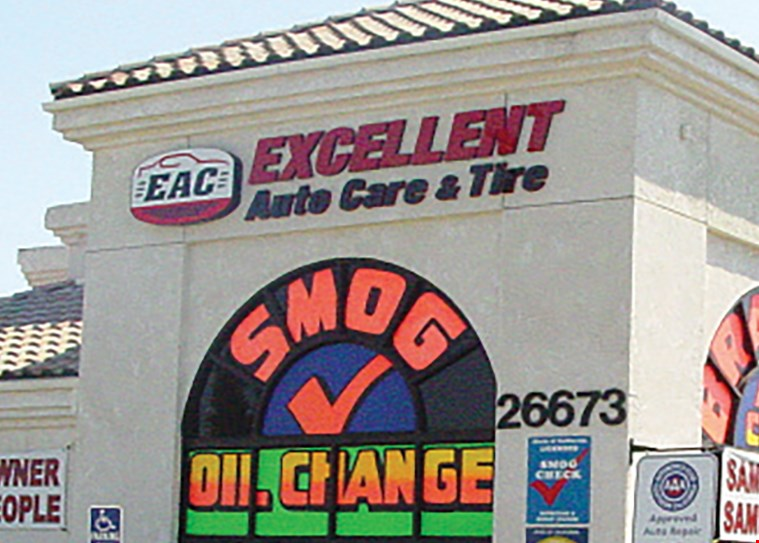 Product image for Excellent Auto Care $19.75 FROM SMOG CHECK