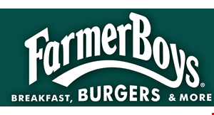 Product image for Farmer Boys $5.99 Big Cheese® Combo.
