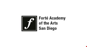 Product image for Forte Academy Of The Arts $81 off (Registration and first lesson free).