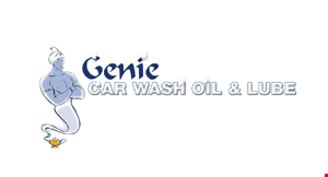 Product image for Genie Car Wash- Point Loma $12 OFF Full Synthetic Oil Change.